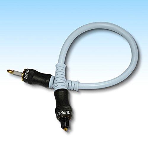 スープラ 光デジタルケーブル 1.0m 1本 角型⇔丸型 SUPRA ZAC MinTos-1.0 A