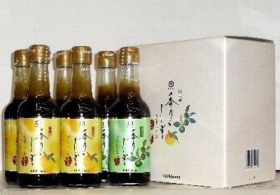 キッコーマン 香りのしずく ぽん酢しょうゆ ゆず すだち 250ml 6本 SP-480