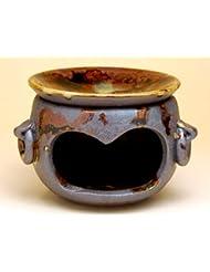 有田焼 南蛮白流 茶香炉【サイズ】径10.4cm×高さ8cm