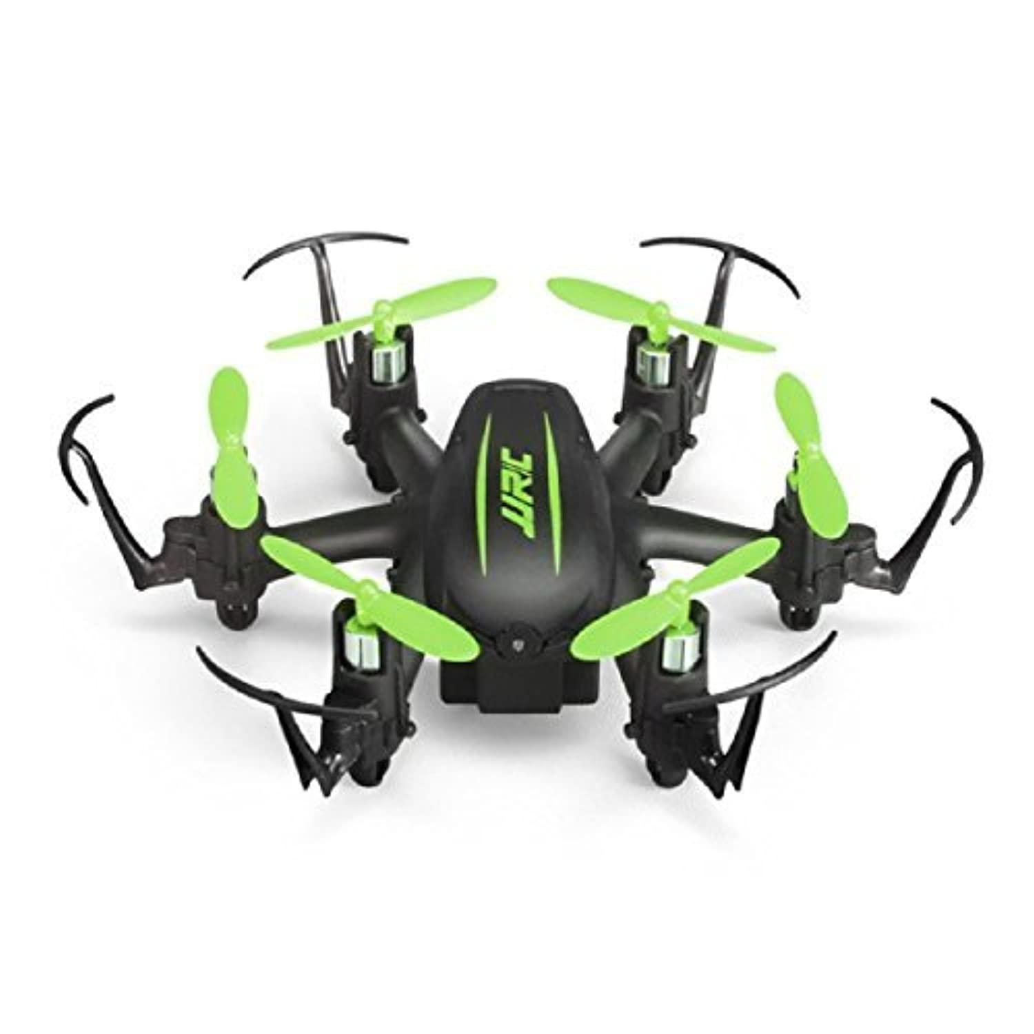 CEStore? H20C 3D Roll Mini Drone with 2.0MP Camera, H20 Upgrade RTF, 2.4G Remote Control, Headless Mode, One Key Return, Dazzling Night Navigation Light, 4 Channels 6 Axle Gyro RC Helicopter - Green [並行輸入品]