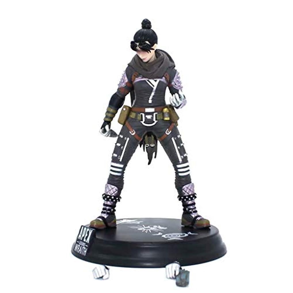 追い出す抑圧征服するゲームモデル、PVC製子供のおもちゃコレクションの像、デスクトップの装飾的なおもちゃ像のおもちゃのモデル、APEXのヒーロー(24cm) SHWSM