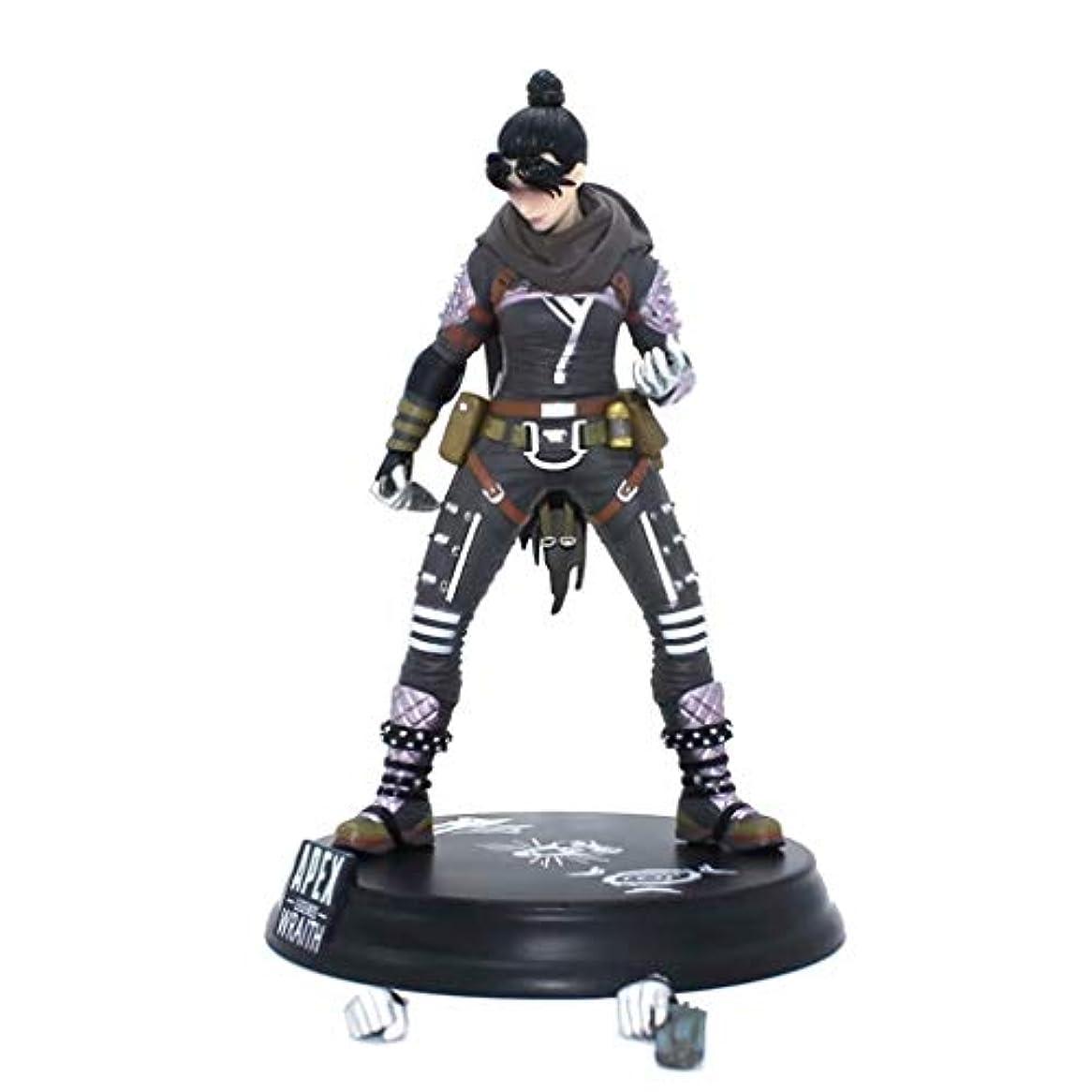 店員直接ゲートゲームモデル、PVC製子供のおもちゃコレクションの像、デスクトップの装飾的なおもちゃ像のおもちゃのモデル、APEXのヒーロー(24cm) SHWSM