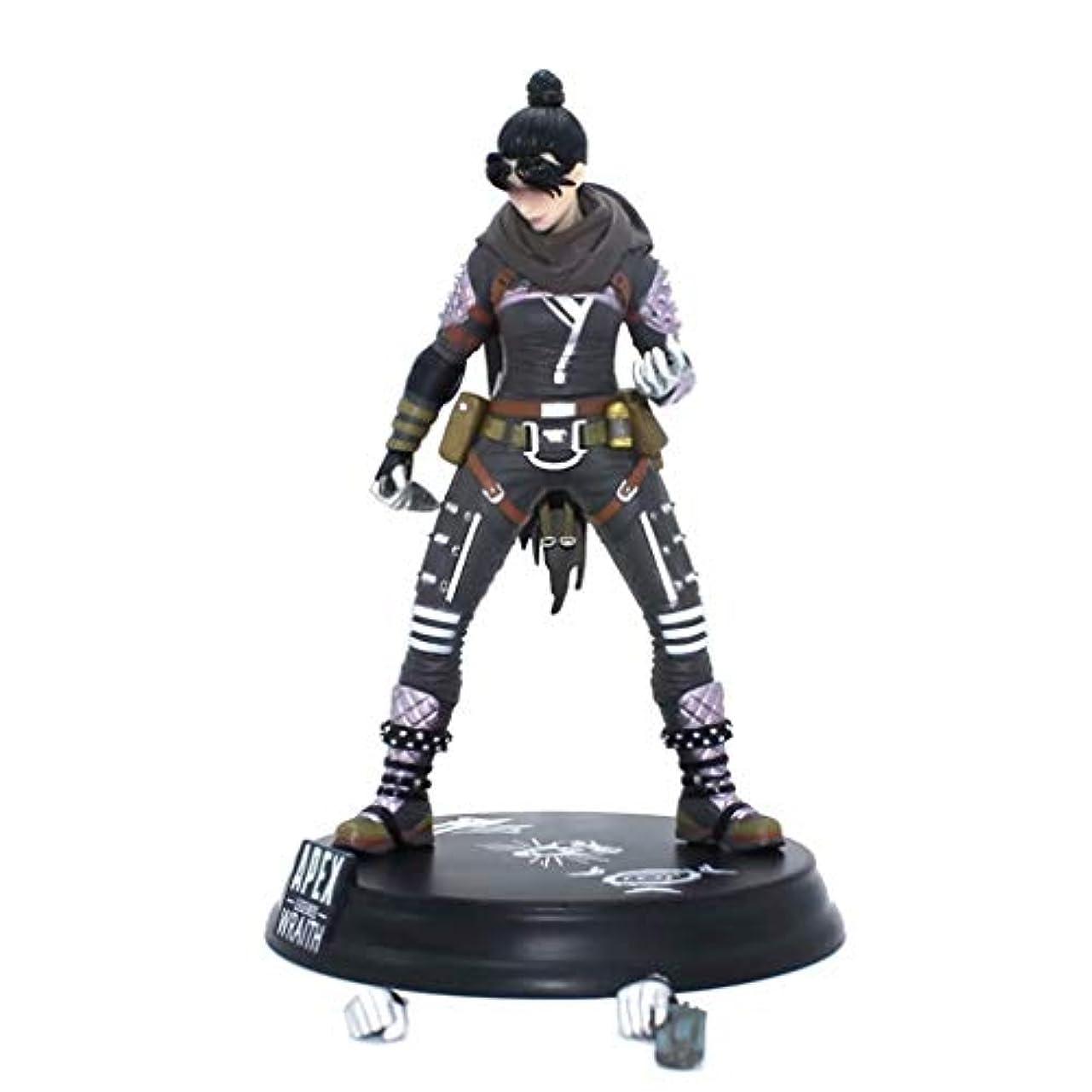 会話南極判読できないゲームモデル、PVC製子供のおもちゃコレクションの像、デスクトップの装飾的なおもちゃ像のおもちゃのモデル、APEXのヒーロー(24cm) SHWSM