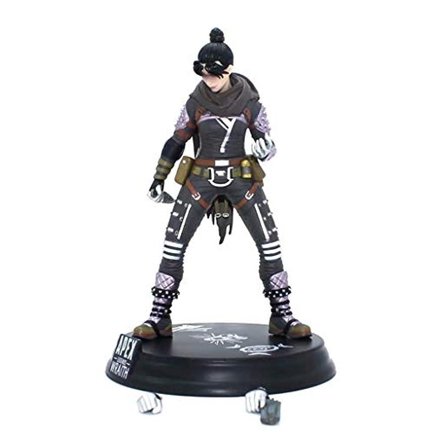 結果フィヨルドすでにゲームモデル、PVC製子供のおもちゃコレクションの像、デスクトップの装飾的なおもちゃ像のおもちゃのモデル、APEXのヒーロー(24cm) SHWSM