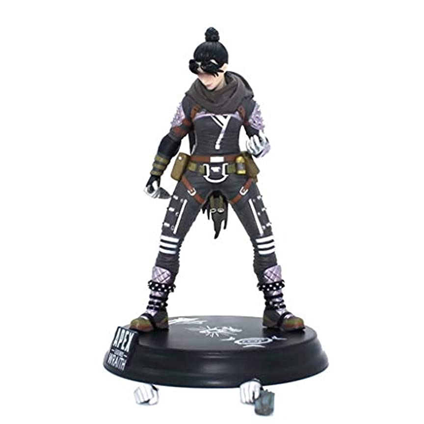 繊維ながらネックレットゲームモデル、PVC製子供のおもちゃコレクションの像、デスクトップの装飾的なおもちゃ像のおもちゃのモデル、APEXのヒーロー(24cm) SHWSM