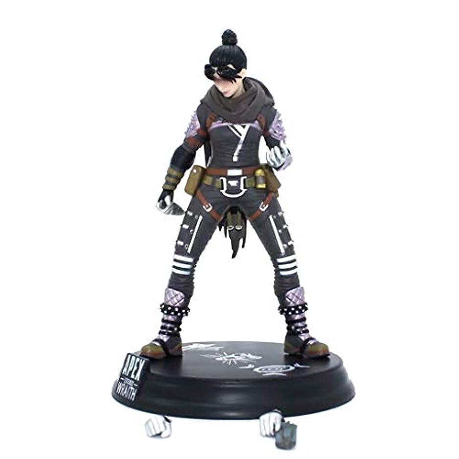 急ぐ出演者シエスタゲームモデル、PVC製子供のおもちゃコレクションの像、デスクトップの装飾的なおもちゃ像のおもちゃのモデル、APEXのヒーロー(24cm) SHWSM