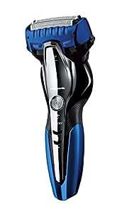 パナソニック ラムダッシュ メンズシェーバー 3枚刃 お風呂剃り可 青 ES-ST6P-A