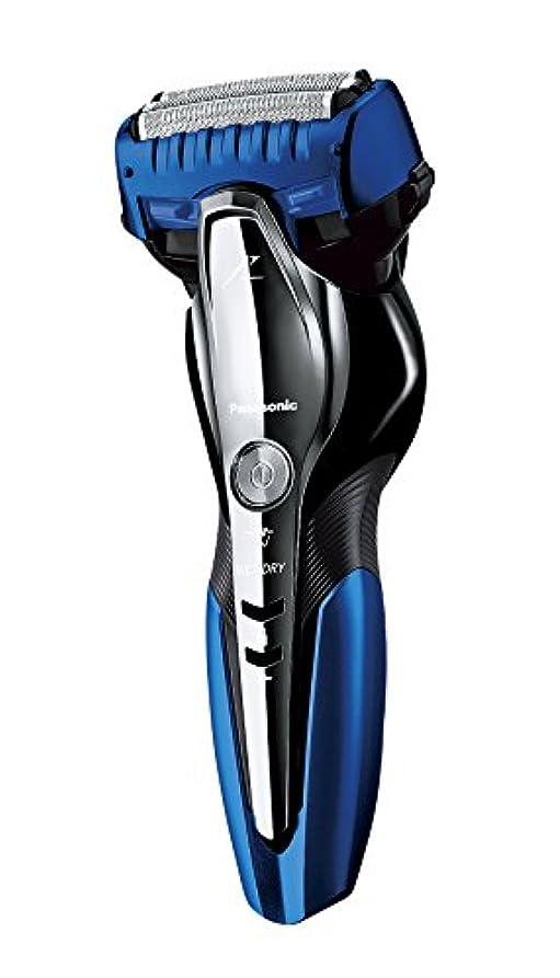 覆すどちらもスロベニアパナソニック ラムダッシュ メンズシェーバー 3枚刃 お風呂剃り可 青 ES-ST6P-A
