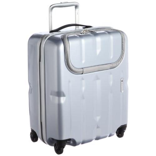 [ワールドトラベラー] World Traveler ワールドトラベラー ディラトンポケット スーツケース 46cm・40リットル・2.7kg 05807 09 (シルバー)