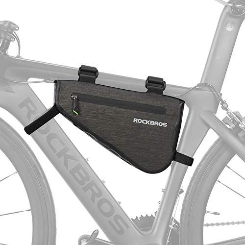ROCKBROS(ロックブロス)フレームバッグ 自転車 フロントバッグ 大容量 防水 トライアングル型 (3L/5L)(3L)