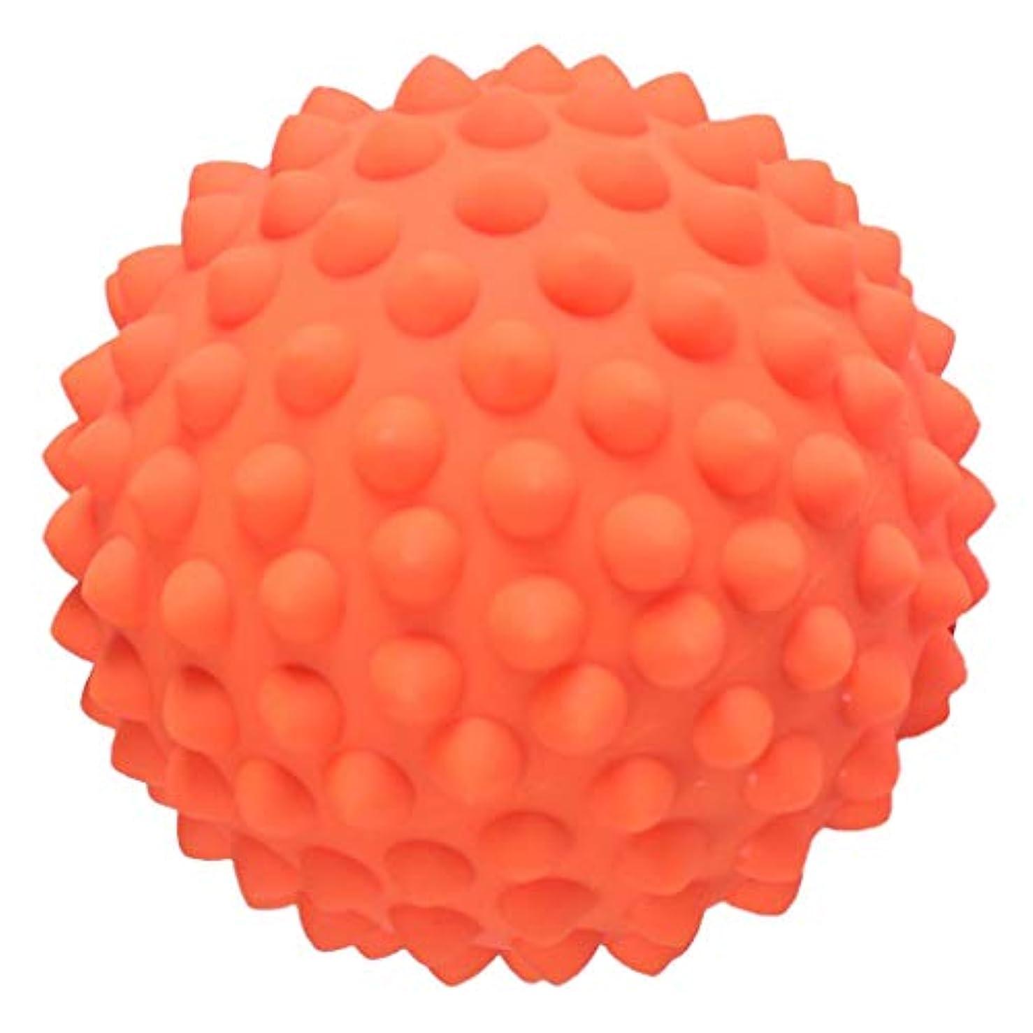 監査蛇行請うFLAMEER マッサージボール ポイントマッサージ ヨガ道具 3色選べ - オレンジ, 説明のとおり