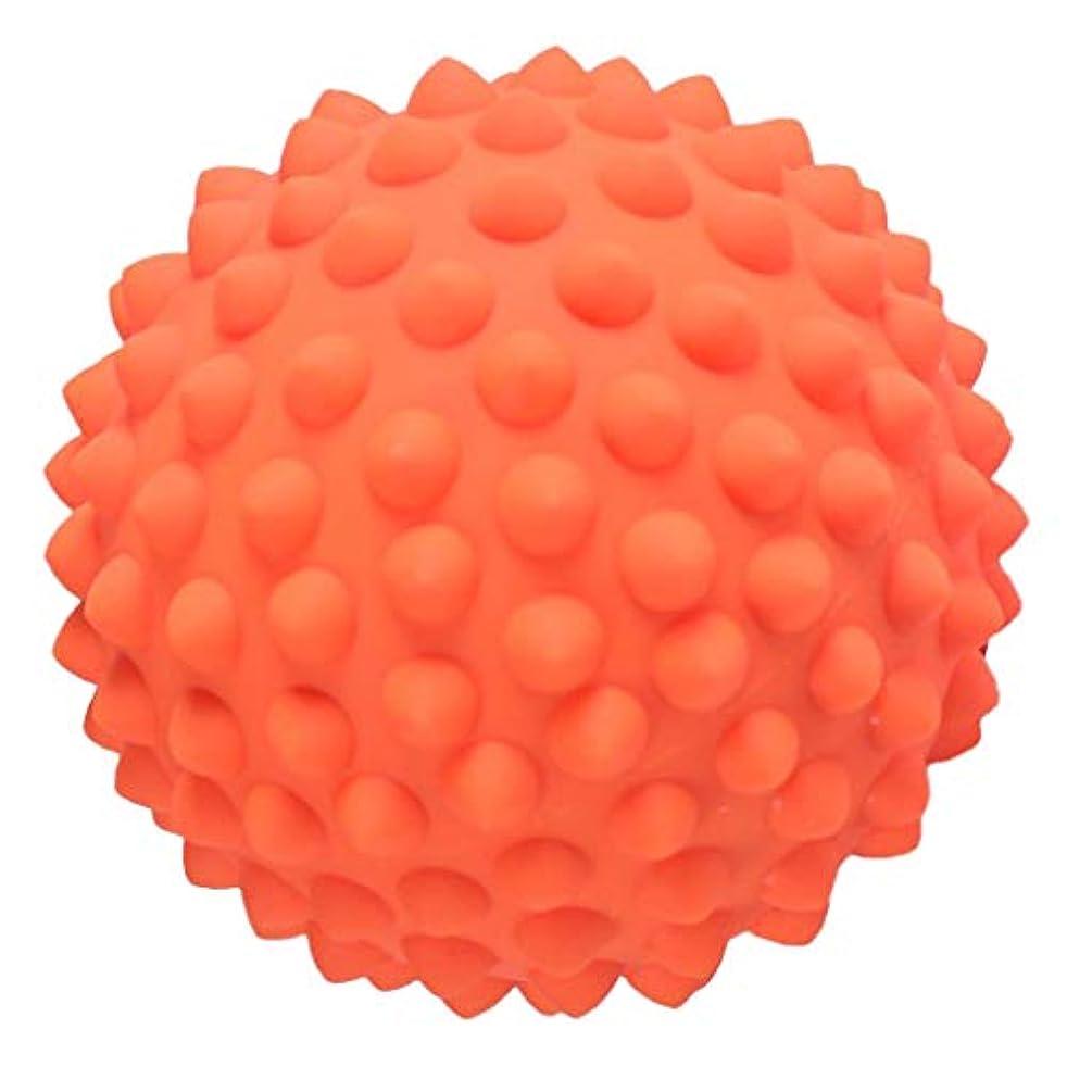 リーダーシップジョブ聡明ハードマッサージ マッサージボール ハード トリガーマッサージ ポインマッサージ 3色選べ - オレンジ, 説明のとおり