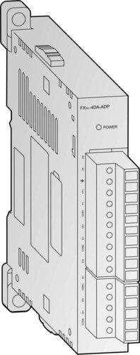 三菱電機 FX3U-4DA-ADP FXシリーズ CC-Linkシステムインタフェースブロック NN
