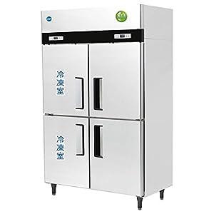 (ジェーシーエム) JCM 省エネIシリーズ タテ型2ドア冷凍2ドア冷蔵庫 JCMR-1280F2-I 冷凍489リットル 冷蔵489リットル 幅1200×奥行800×高さ1950mm