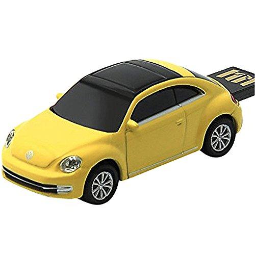 [해외]오토 드라이브 USB 메모리 Volkswagen New Beetle 옐로우 16GB/Auto Drive USB Memory Volkswagen New Beetle Yellow 16GB