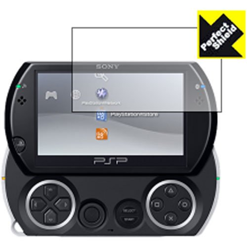 PDA工房 PSP go 専用液晶保護シート『Perfect Shield for PSP go』(透明度が高く反射を抑えたタイプ)