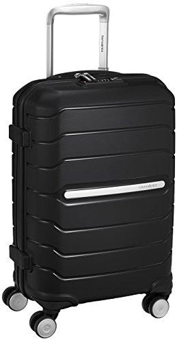 Samsonite 74643 Octolite Spinner Hard Side Luggage, Black, 55 Centimeters