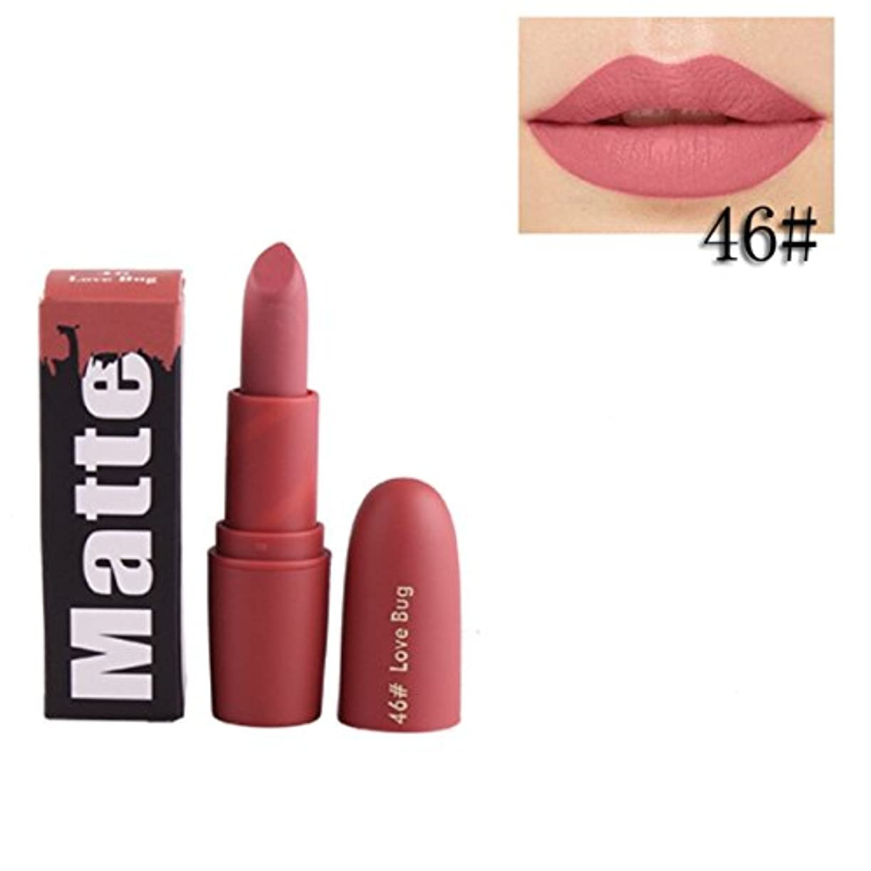 強います吸収見つける女性口紅 BOBOGOJP 欧米風 ミストマット リップグロス 18色選択 保湿 持続性 魅力的 リップリップスティック モイスチャライジング リップスティックメイク 恋する唇 おすすめリップスティック (J)