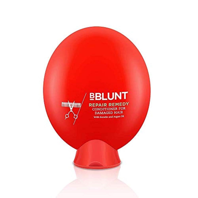 真夜中純粋に難破船BBLUNT Repair Remedy Conditioner for Damaged Hair, 200g (Keratin and Argan Oil)