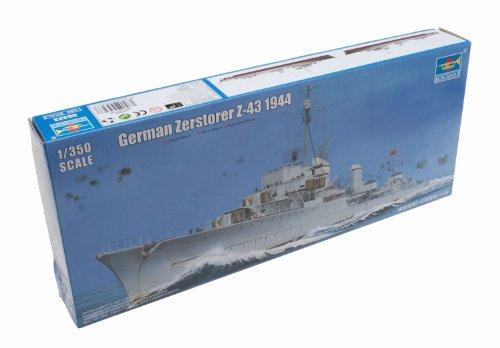 1/350 大戦時大型艦艇シリーズ ドイツ海軍 Z級駆逐艦 Z-43 1944