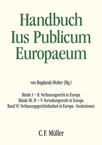 Ius Publicum Europaeum: E-Book-Gesamtausgabe Bände I bis VI