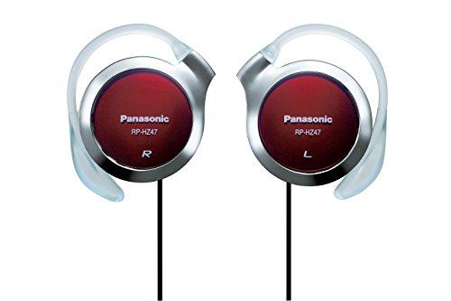 パナソニック オープン型オンイヤーヘッドホン 耳掛け式 レッド RP-HZ47-R