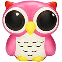 cloudro Squishies Slow Risingおもちゃ、SquishiesジャンボフクロウAniaml香りつき可愛い動物Squishy男の子女の子パーティーギフト応力Relieverのおもちゃ マルチカラー 703486632887