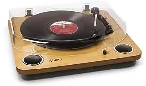 ION Audio Max LP レコードプレーヤー USB端子 スピーカー内蔵