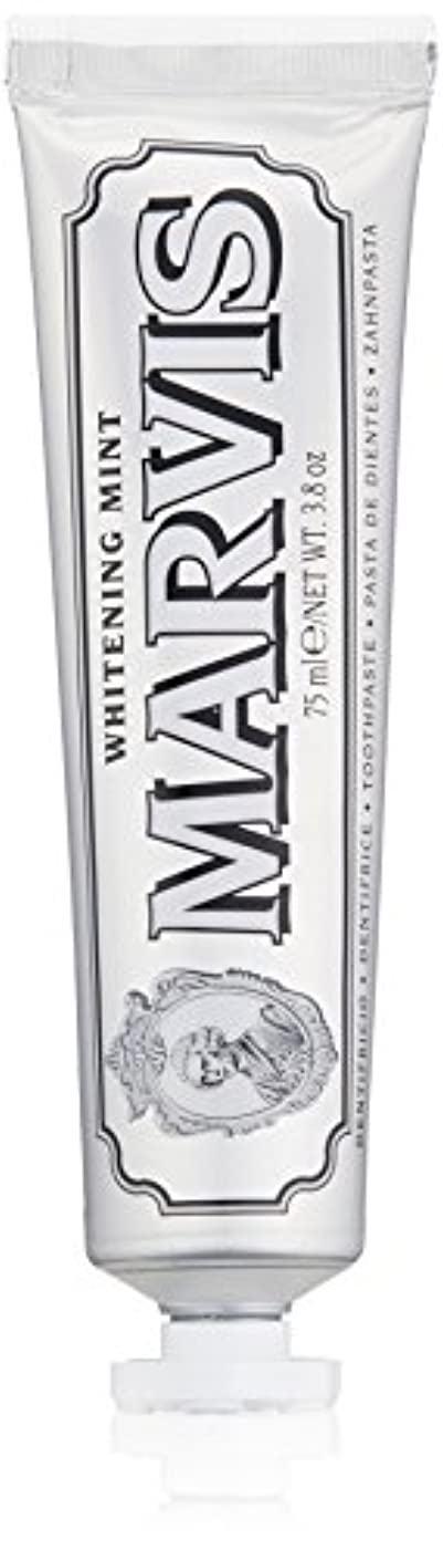 神社コメンテーター滑り台MARVIS(マービス) ホワイト?ミント(歯みがき粉) 75ml
