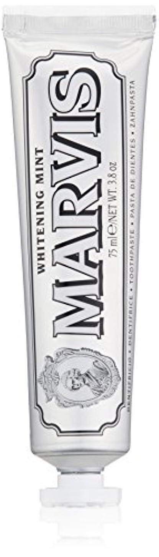 はっきりしない調停者サイトラインMARVIS(マービス) ホワイト?ミント(歯みがき粉) 75ml