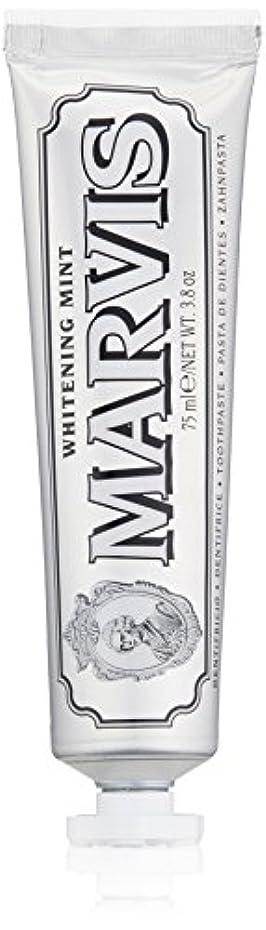 スマイル迷路自由MARVIS(マービス) ホワイト?ミント(歯みがき粉) 75ml