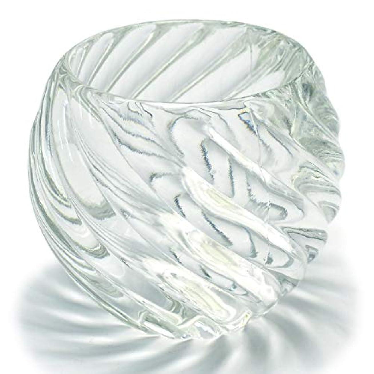グリース有効なベリーキャンドルホルダー ガラス 3 キャンドルスタンド クリスマス ティーキャンドル 誕生日 記念日