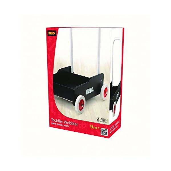 BRIO 手押し車 (ブラック) 31351の紹介画像4