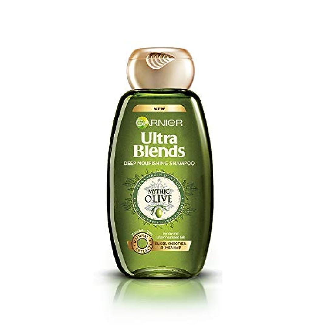クラブ先史時代の埋めるGarnier Ultra Blends Shampoo, Mythic Olive, 360ml