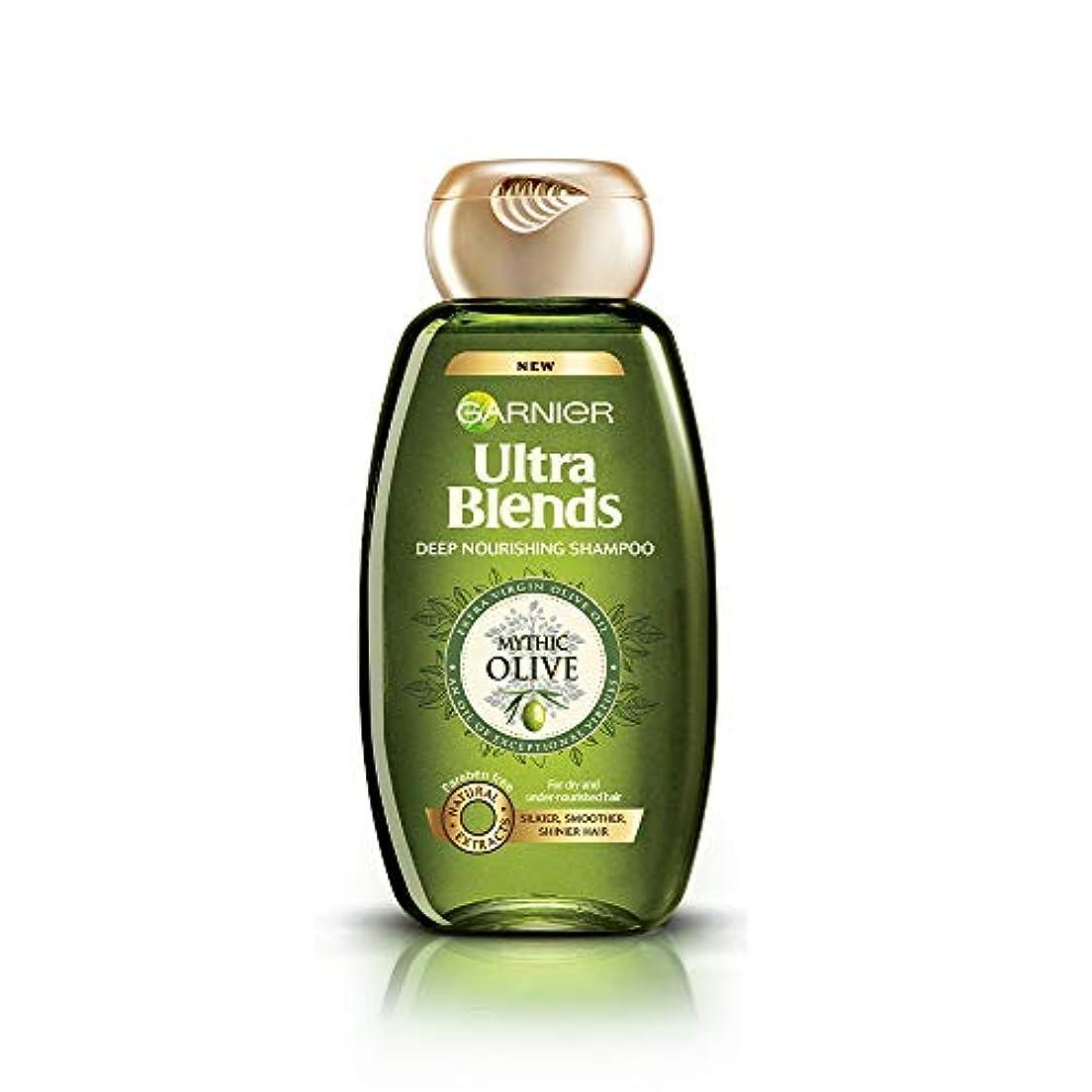 あいまいさ逃れる北西Garnier Ultra Blends Shampoo, Mythic Olive, 360ml