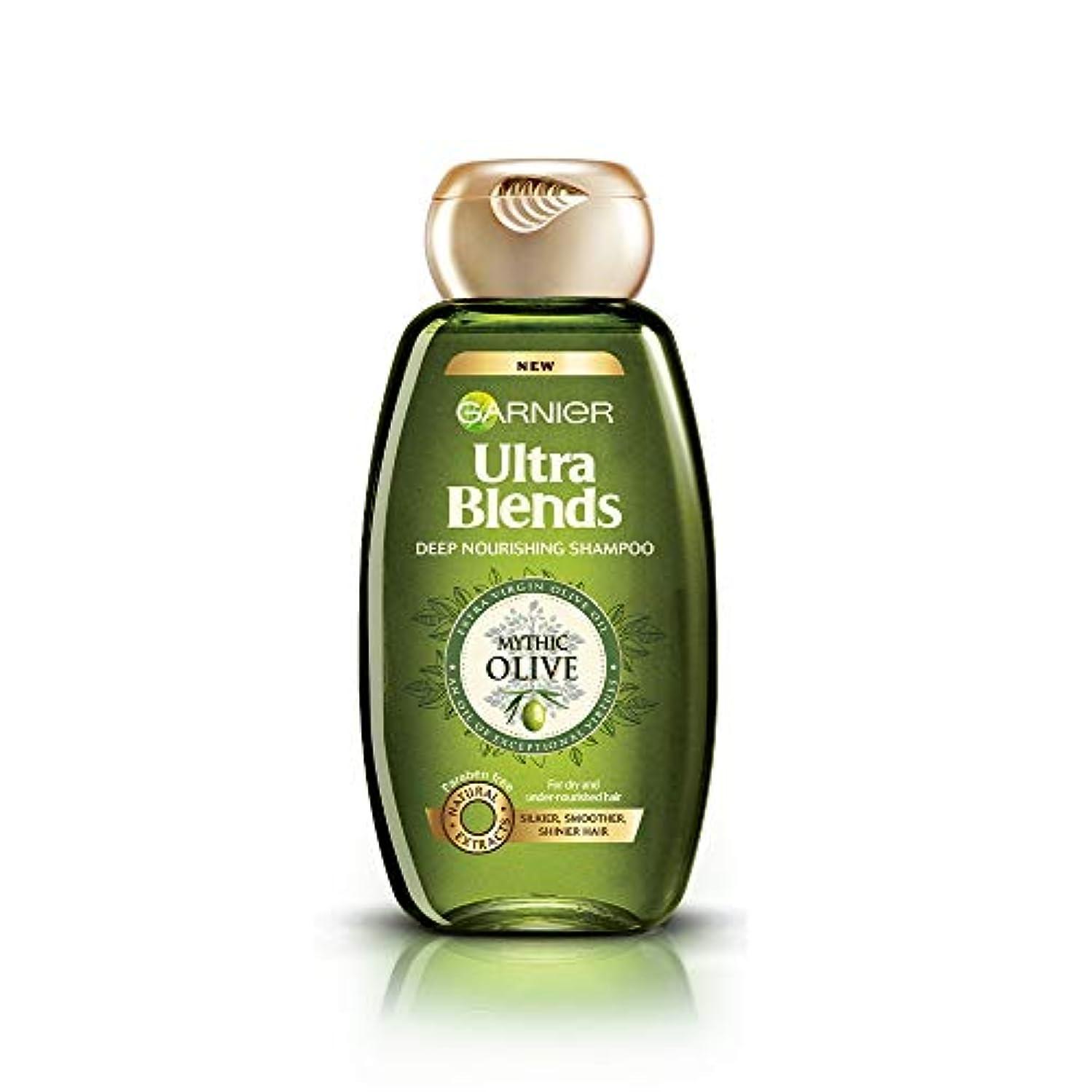 違反する冒険家習慣Garnier Ultra Blends Shampoo, Mythic Olive, 360ml