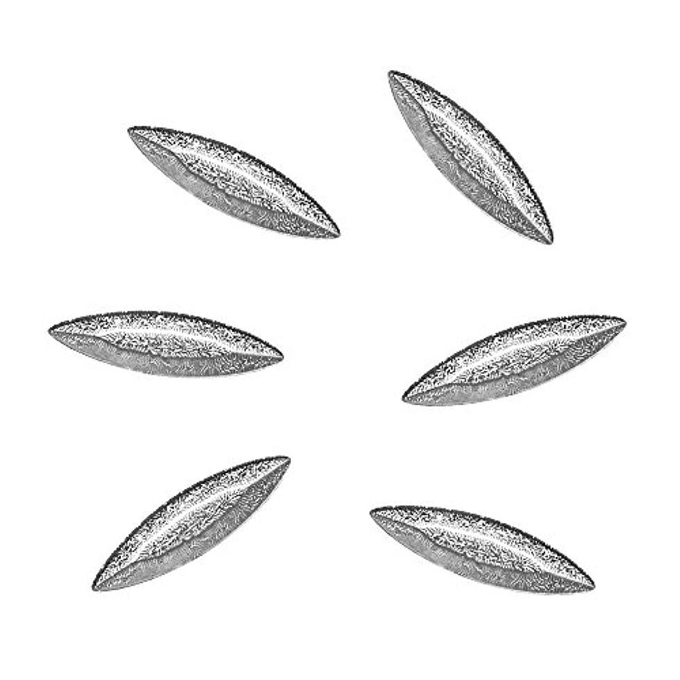 クリップ蝶前任者さびたBonnail Diamant Leaf Silver
