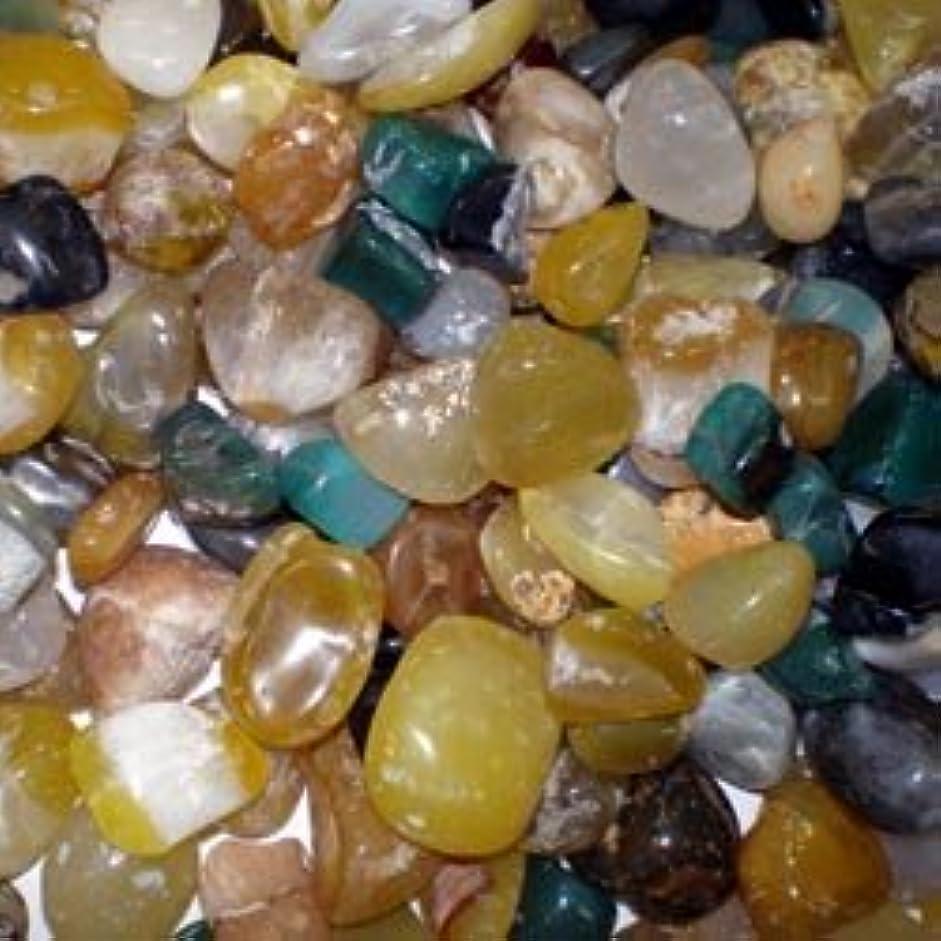 柔和地質学維持瑪瑙5色ミックス 500g