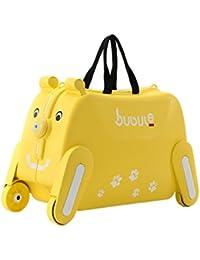 キャリーケース 子供 キャリー バッグ 乗用玩具 遊べる おもちゃ箱 ギフト 犬