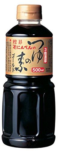 にんべん つゆの素ゴールド ボトル500ml