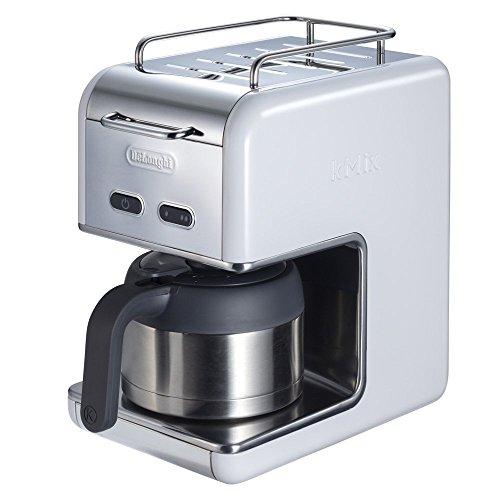 デロンギKmix ドリップコーヒーメーカー プレミアムCMB5T-WH ホワ...