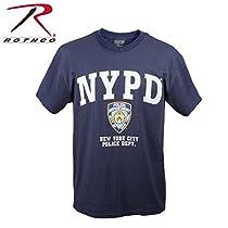 ロスコ  NYPD Tシャツ (M, ネイビー)