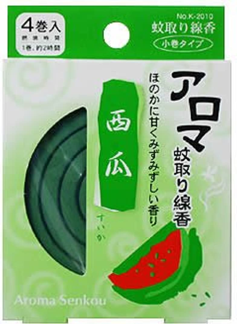 柔らかさ確かめる意味するアロマ蚊取り線香 西瓜(すいか)