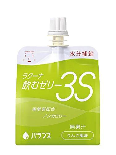 ラクーナ飲むゼリー3S りんご風味150g×60パック(30パック×2)