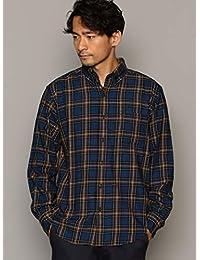 ユナイテッドアローズ グリーンレーベル リラクシング ワイシャツ SC INDIGO/チェック ルーズ ボタンダウン シャツ 32116992455 メンズ