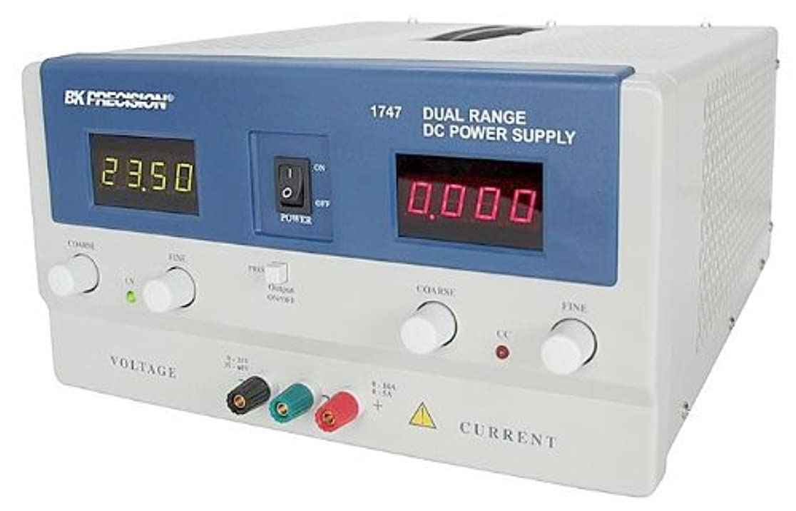 保険バースしないB&K Precision 1747 Dual Range DC Power Supply 30V 10A or 60V 5A [並行輸入品]