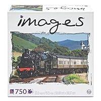 "750Piece–23.5"" X 15.5""–""蒸気機関車「イメージ–シリーズ–sure-lox | TCGジグソーパズル(4357024)"