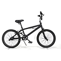 BMX モアノ(moineau) ジャイロ 機構付 20インチ 自転車 マット ブラック REI 送料無料 ストリート トリック 【限定生産】