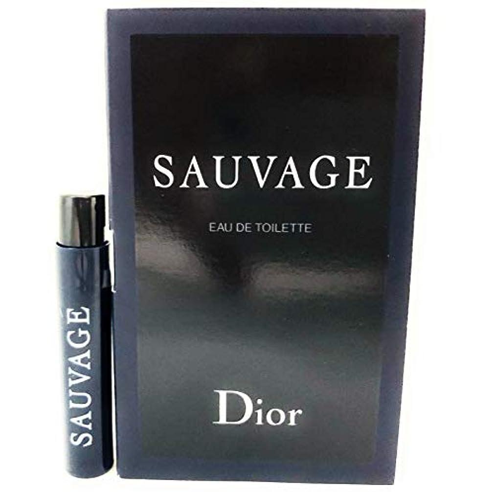 スラック柔らかい足来てクリスチャン ディオール(Christian Dior) ソヴァージュ オードゥ トワレ 1ml サンプルサイズ[並行輸入品]