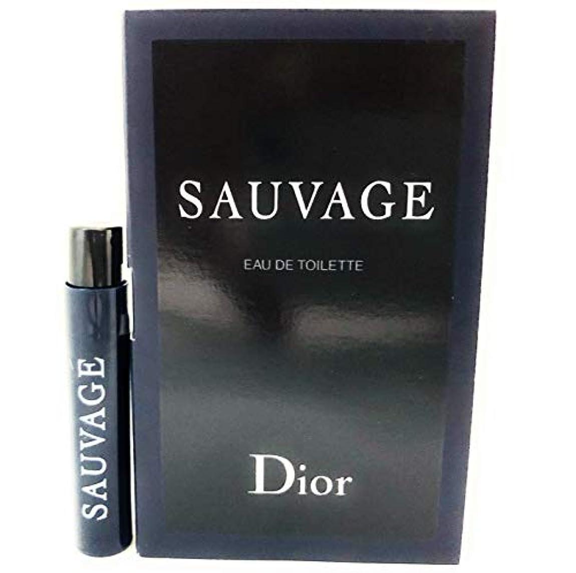 コースネズミ少ないクリスチャン ディオール(Christian Dior) ソヴァージュ オードゥ トワレ 1ml サンプルサイズ [並行輸入品]